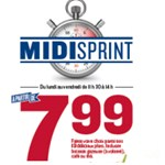 Midi Sprint  partir de 7,99 $