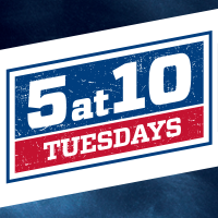 5 at 10 Tuesdays