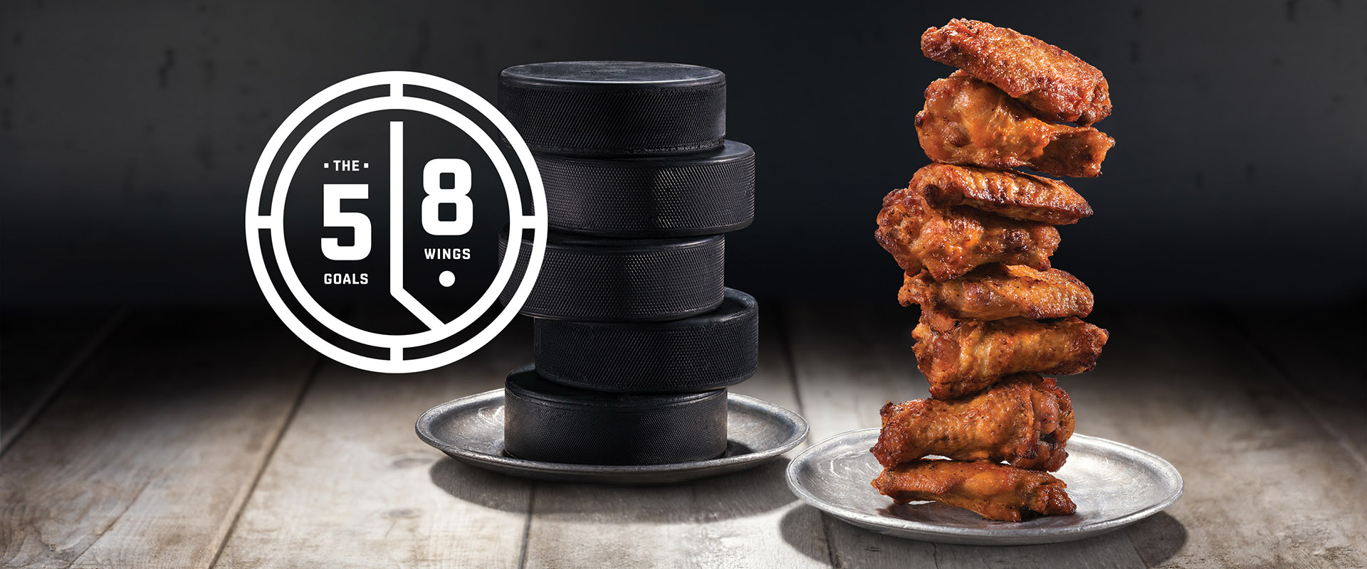 5 goals = 8 free wings
